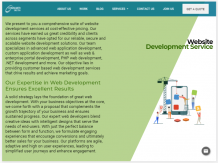 web design and development India
