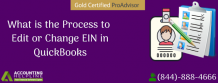 Complete guide to Edit or Change EIN in QuickBooks