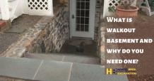 What is walkout basement and why do you need one?