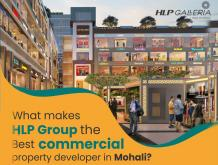 What makes HLP Group the Best commercial property developer in Mohali? | HLP GALLERIA