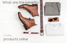Ucoz- What are the benefits of selling products online?