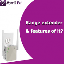 What are range extender and features of it?