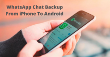 How to Restore WhatsApp Chat Backup From iPhone to Android Smartphone - Nex Gen Apps