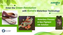 Enter the Green Revolution with Kornit's Waterless Technology
