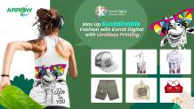 Max Up Sustainable Fashion with Kornit Digital with Limitless Printing