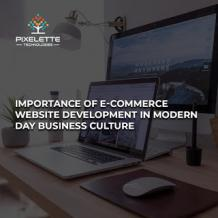 Importance of E-commerce Website Development in Modern Day Business Culture