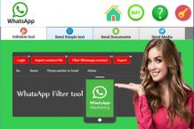Bulk WhatsApp marketing messenger | WhatsApp Filter tool