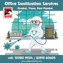 office sanitization services in Andheri - Sadguru Facility