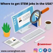 Career Ghost! The best job portal in the USA for STEM jobs!