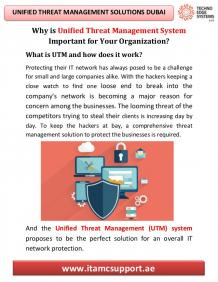 Unified Threat Management Solutions Dubai