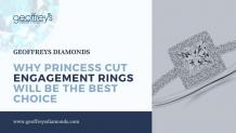 Why princess cut engagement rings will be the best choice – Gems jewelry