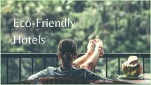 Why Should You Choose Eco-Friendly Hotels