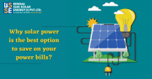Why solar power is the best option to save on your power bills? – Bsse