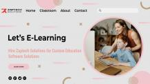 Weebly- Why to Hire Zaptech Solutions for Education Software Development?