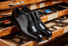 Winsford - Men's Black Handmade Leather Oxford Shoe By Barker