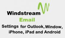 Windstream Email Settings -