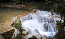 Wisata alam Lembah Tepus di Bogor yang cantik alami