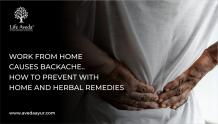 Work from Home care with home remedies and herbal remedies