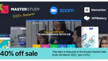 Best Education WordPress Theme 2021 - Masterstudy