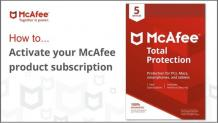 McAfee.com/Activate - McAfee Activate Support   McAfee com Activate