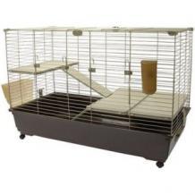 gabbie per conigli in legno