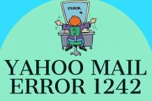 How to Fix Yahoo Mail Error 1242? | Reason & Solutions