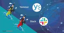 Yammer vs Slack - which one is best for Team Messaging