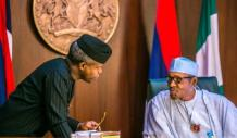 Full list of Names, portfolios of Osinbajo's aides reportedly sacked by Buhari