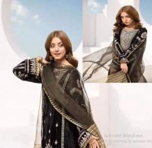 Sadia Asad Velvet Suit