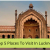 Top 5 Places To Visit In Lucknow -