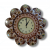 Chandramukhi clock with mirror work - Buy handmade cow dung products