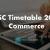 Maharashtra HSC Timetable 2019 Commerce