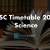 Maharashtra HSC Timetable 2019 Science