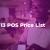 Odoo 13 POS Price List