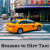 What are the Reasons to Hire Taxi in Whitney, TX?