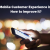 The Mobile Customer Experience in 2019 & How to improve it