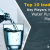 Top Water Purifier Companies: Manufacturers and Leaders