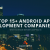 Top Android app development companies USA