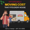 4 Bedroom House Moving Cost