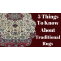 5 Things To know About Traditional Rugs – Shop A Rug – Handmade Rugs Store