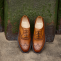 Charles - Men's handmade Leather Brogue Shoe by Barker