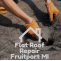Flat Roof Repair in Fruitport – Roofing Services