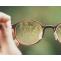 Bird's eye vision on the optical glasses for prescription eyeglasses