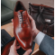 Plymouth - Men's Handmade Oxford Shoes by Barker