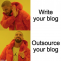 Knock Knock, Is There an Expert to Outsourcing a Blog? | Kafidoff.com