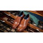 Timothy - Men's Handmade Leather Brogue Shoe By Barker