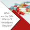 A list of the Side Effects of Amlodipine Besylate